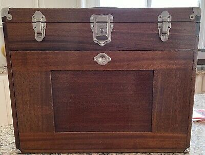 $1123 • Buy Gerstner Machinist Tool Chest With Base Vintage Walnut Mint