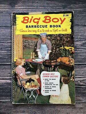 £9.34 • Buy Vintage Big Boy Barbecue Book Cookbook 1957 1950's Housewife Recipes BBQ Grill