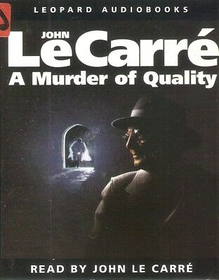 £3.19 • Buy John Le Carré - A Murder Of Quality (2xCass A/book 1991) FREE UK P&P; Smiley #2