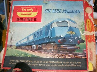 £39 • Buy Triang Blue Pullman Boxed Train Set