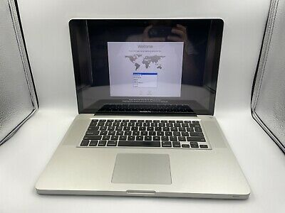 $224.99 • Buy Apple MacBook Pro Early 2011 15  A1286 Core I7 2.00GHz 4GB RAM 500GB HDD GOOD!