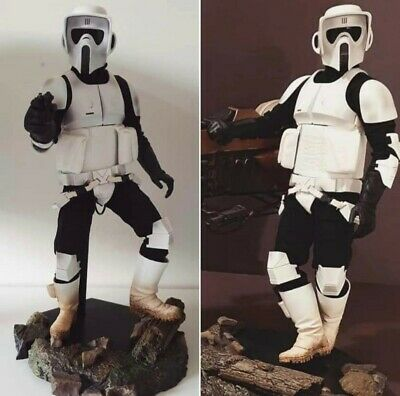 £255 • Buy Sideshow (not Hot Toys) Star Wars Scout Trooper