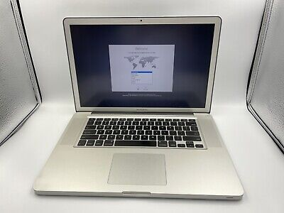$259.99 • Buy Apple MacBook Pro Early 2011 15  A1286 Core I7 2.00GHz 8GB RAM 1TB HDD EXCELLENT