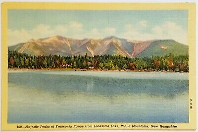 $2.39 • Buy Majestic Peaks Of Franconia Range From Lonesome Lake White Mountains NH Postcard