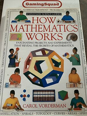 £6.95 • Buy How Mathematics Works, Carol Vorderman HB Book, Supplied By Gaming Squad