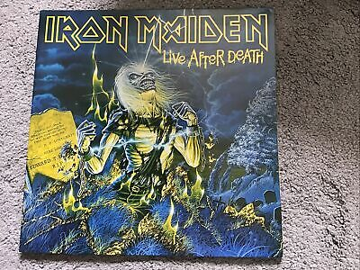 £16 • Buy Iron Maiden - Live After Death. Double Vinyl 1985 UK Orig. Excellent Cond. Wally