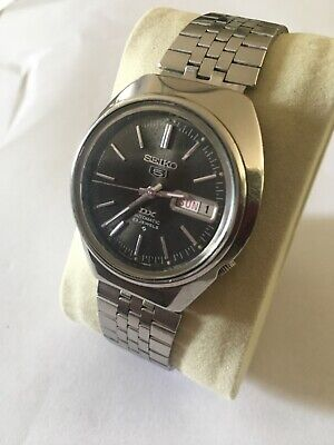 £45 • Buy Vintage Seiko 5 DX 6106 7640 23 Jewels Mens Automatic Watch