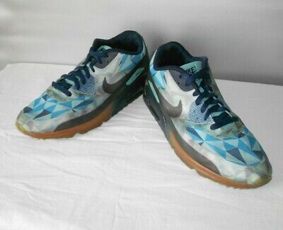 $30 • Buy Men's Nike Air Max Blue Athletic Fashion Sneakers Size 10 D