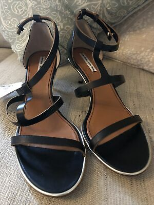 £20 • Buy Ladies Designer Black Leather Shoes Uk Size 7 New From Vero Cuoio