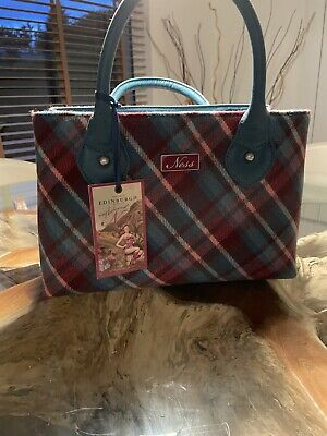 £15 • Buy Ness Blue Check Grab Bag, Brand New With Tags, With Matching Purse 2 Items