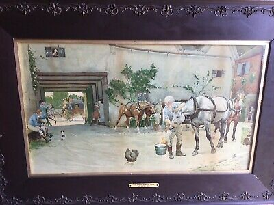 """£45 • Buy Cecil Aldin """"The White Hart At Hook"""""""