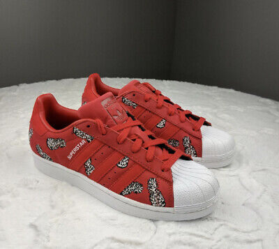 £22 • Buy Adidas Superstar Red Pineapple Trainers Size 9