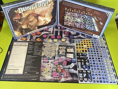 AU27.36 • Buy Dungeon! Fantasy Board Game From Dungeons And Dragons — 100% Complete
