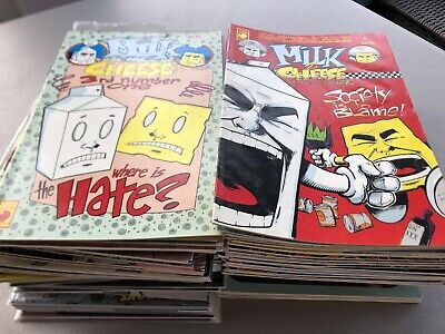 $15.50 • Buy Huge Lot Of Over 100 Independent Comics Milk And Cheese, Grendel Nice Comic Lot
