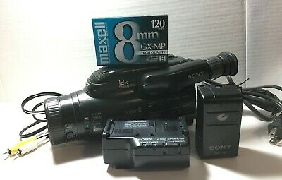$ CDN99.99 • Buy Sony CCD-FX630 Video8 8mm Handycam Camcorder W/extras - Tested & Working
