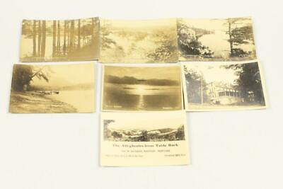 $4.99 • Buy Lot Of (7) Real Photo Postcards RPPC 1920's USS Los Angles Zeppelin Lanscapes