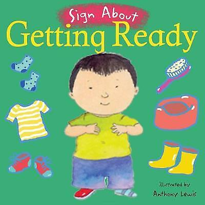 £4.98 • Buy Getting Ready: BSL (British Sign Language) (Board Book, 2005)