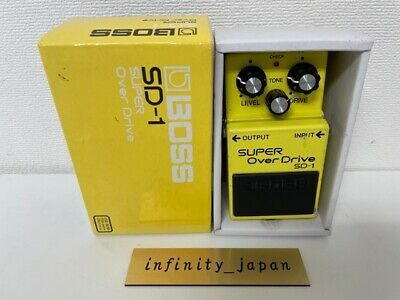 $ CDN62.13 • Buy Boss SD-1 Super Overdrive Guitar Effect Pedal Free Shipping Fast Ship From Japan