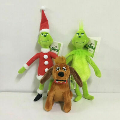 £4.89 • Buy How The Grinch Stole Christmas Grinch Plush Doll Soft Stuffed Toy Kids Xmas Gift