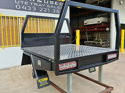 AU4850 • Buy New Dual Cab Steel Tray Twin Cab Steel Ute Tray Hilux Ranger Dmax Bt50 Np300...