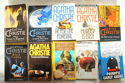 £9 • Buy Death On The Nile & 9 Other Books By Agatha Christie