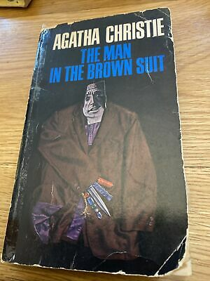 £3.50 • Buy The Man In The Brown Suit Agatha Christie Dell Edition 1966