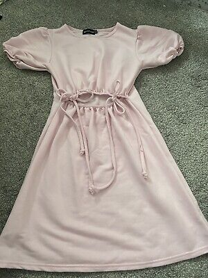 £5 • Buy Pretty Little Thing Pink Cut Out Dress 6