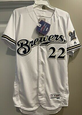 $299 • Buy Milwaukee Brewers Christian Yelich Jersey Brand New W/Tags Men's M 40 Authentic