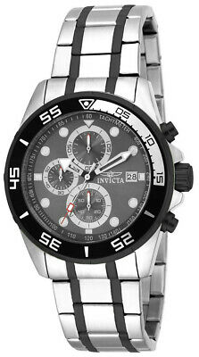 £13.30 • Buy Invicta Specialty 17016 Men's Round Gray Analog Chronograph Date Watch