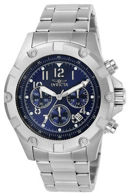 £5.39 • Buy Invicta Specialty 13614 Men's Round Navy Blue Chronograph Date Analog Watch