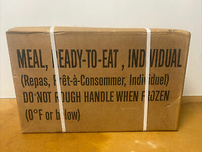 $100 • Buy MRE CASE Meal Ready To Eat Military Surival