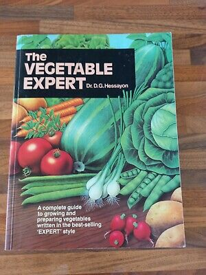 £4.99 • Buy The Vegetable Expert By Dr D.G. Hessayon, Gardening Book Paperback