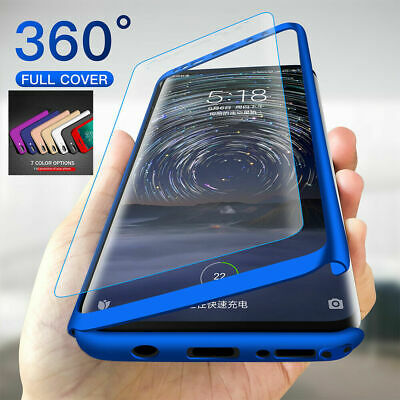 AU9.29 • Buy Samsung Galaxy A12 A11 A21s A30 A70 360 Shockproof Cover Case+Tempered Glass