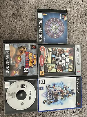 £3 • Buy Ps1 And Ps2 Game Bundle GTA, Kingdom Hearts, Nice Cats Etc