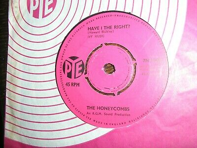 £2.99 • Buy 60s THE HONEYCOMBS HAVE I THE RIGHT / PLEASE DON'T PRETEND AGAIN U.K PYE M-