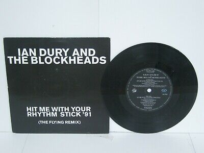 """£3.80 • Buy Record 7"""" Single Ian Dury & The Blockheads Hit Me With Your Rhythm Stick 43"""