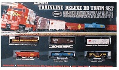 $ CDN119.12 • Buy Walthers Trainline Deluxe HO Train Set Wisconsin Central, Track, Power Set, Etc!