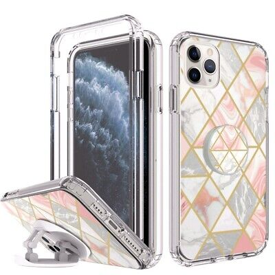 AU10.77 • Buy Case For IPhone 12 11 Pro XS Max XR SE 6S 7 8 Plus Kickstand Ring Screen Cover