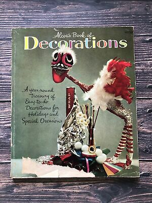 £6.46 • Buy Vintage Alcoas' Book Of Decorations 1959 1950's Housewife Crafts Decorations