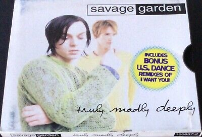 AU6 • Buy Savage Garden - Truly, Madly,  Deeply - CD Single - Free Post