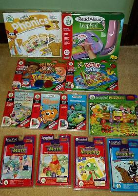 £161.75 • Buy Lot Of 12 Leap Frog Read Aloud Leap Pad With Microphone And 11 Games - Brand New
