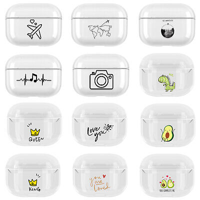 $ CDN5.84 • Buy For Apple AirPods Case Pro 3 Hard PC Protector Pictorial Shockproof Full Cover
