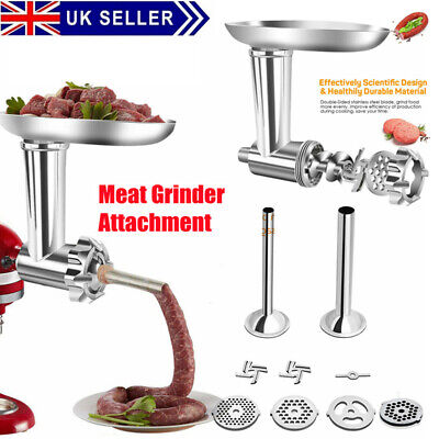 £19.97 • Buy Sausage Stuffer Meat Grinder Mincer Attachment Parts  For KitchenAid Stand Mixer