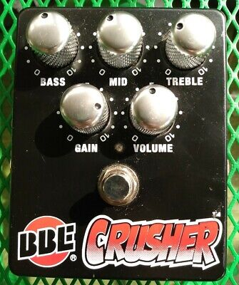 $ CDN94.04 • Buy BBE Crusher High Gain Guitar Distortion Pedal (jhs Angry Charlie)
