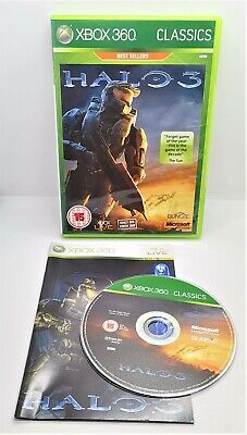 £3.99 • Buy Halo 3 Video Game For Microsoft Xbox 360 PAL TESTED