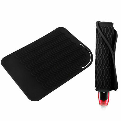 £4.75 • Buy Protection Safety Mat Extreme Heat Proof Silicone Pouch Case Hair Straighteners