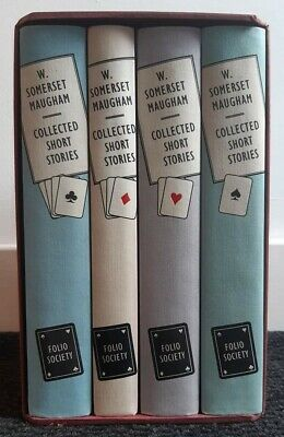 £38 • Buy Folio Society : Collected Short Stories By Maugham W Somerset .. 4 Vols Boxset