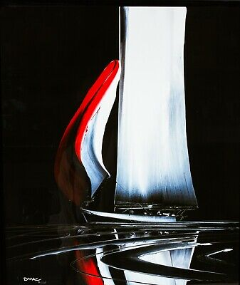 £400 • Buy DUNCAN MACGREGOR (BRITISH, B.1961) -INTO THE NIGHT- LIMITED EDITION BOAT PRINT