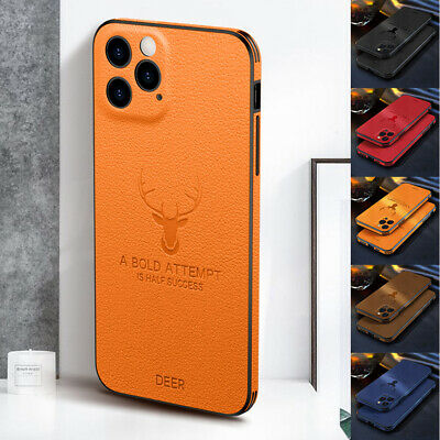 AU8.39 • Buy For IPhone 13 12 Pro Max 11 X XR 8 7 Shockproof Hybrid Leather Rubber Case Cover