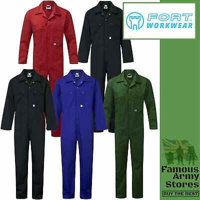 £19.95 • Buy Mens Heavy Duty BoilerSuit Zip Front Tuff Work Boiler Suit Coverall Overall